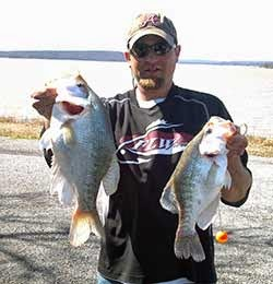 Big crappie biting at lake eufaula for Lake eufaula fishing report
