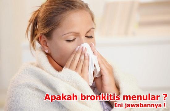 Apakah Penyakit Bronkitis Dapat Menular Kepada Orang Lain ?