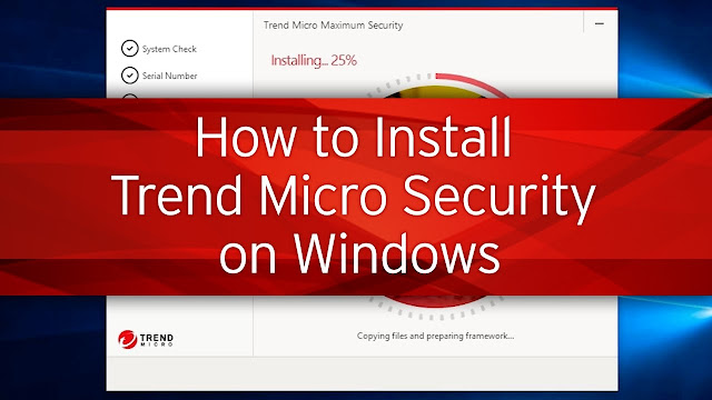 Install or Upgrade Trend Micro