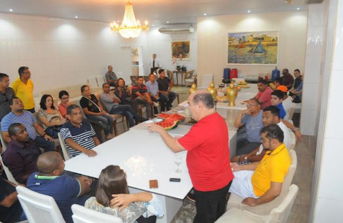 SÃO LUIS: Astro reúne a imprensa, fala em parceria e anuncia concurso
