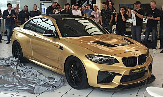 2016 BMW M2 From Manhart Racing