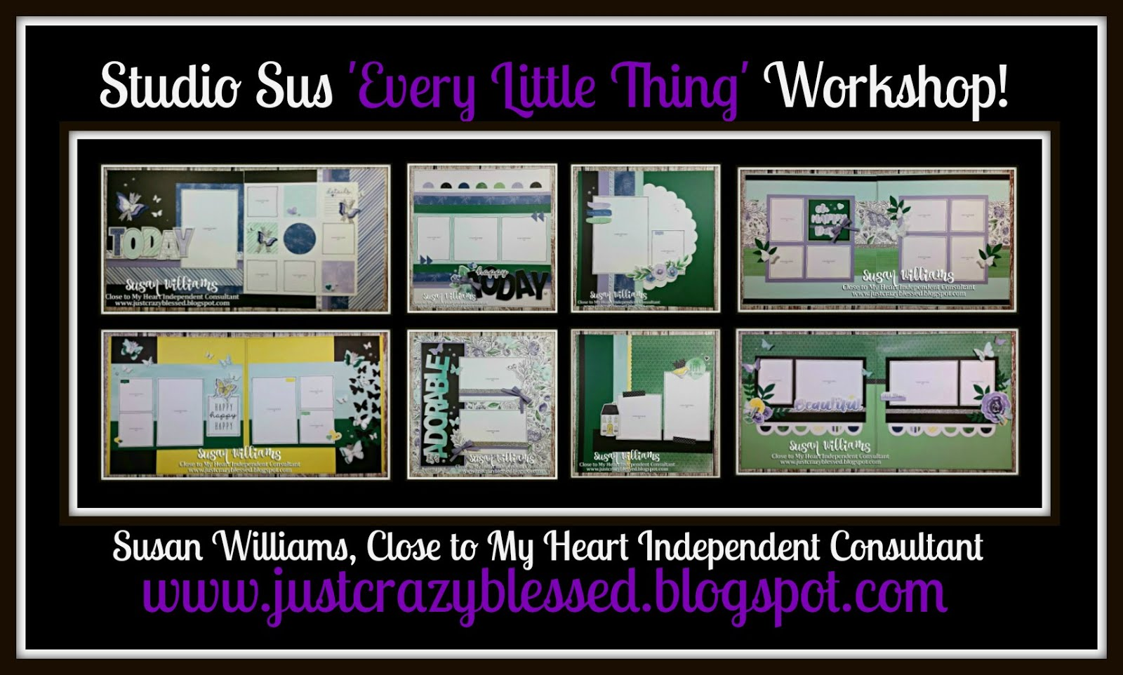 'Every Little Thing' Scrapbooking Workshop!