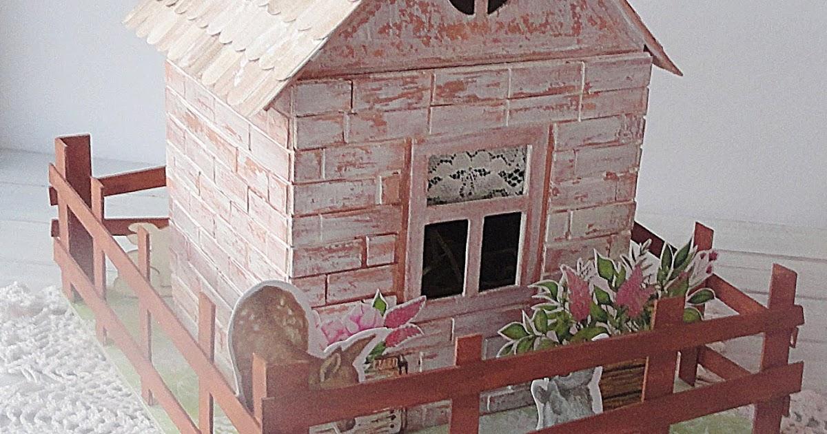 Весенний домик на пасху - как я это делаю - svetlashka