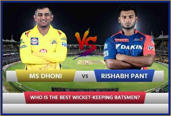 Pant vs Dhoni: Pant has played 38 IPL matches, See who's the best batsman after 38 matches
