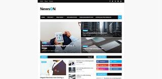 NewsOn Blogger Template