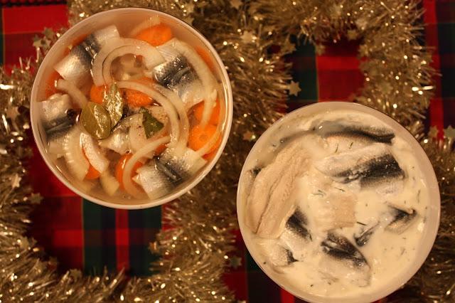 valkosipulisilakat silakkarullat maustesilakat joulusilakat kala kalaruoka joulukalat valkosipuli silakka