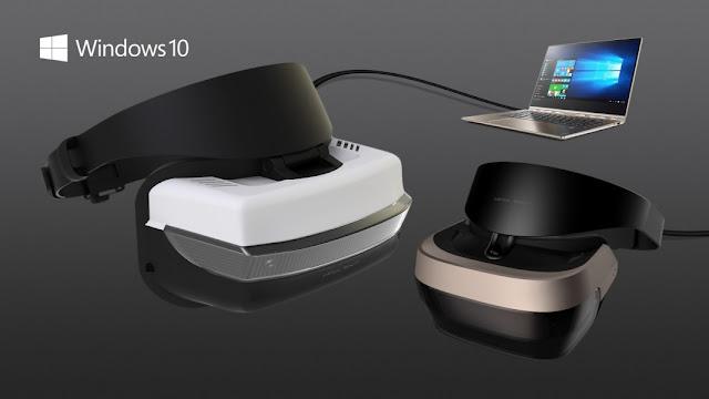 casque de realité virtuelle de microsoft