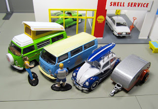GreenLight vdub Diorama