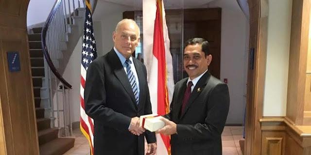 Indonesia Amerika Tingkatkan Kerja Sama Basmi Terorisme