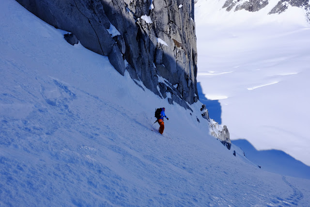 Con gli sci in Alaska, sul Monte Denali. Fotografia di Mauro Taramelli