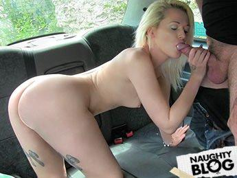 Fake Taxi – Rochelle: Scottish Lass Rides Big Cock