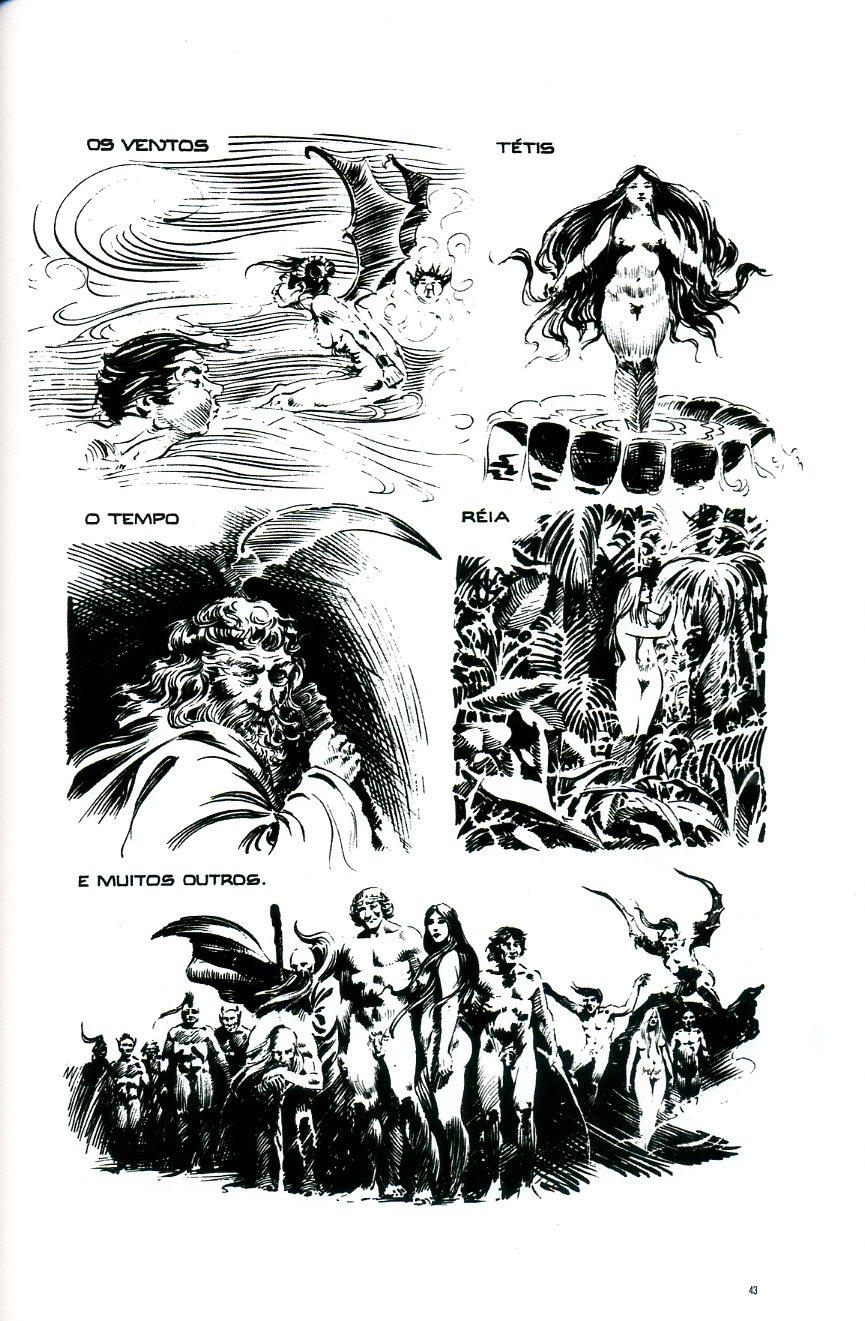 Ler BD: Afrodite, quadrinhos eróticos. Alice Ruiz, Paulo