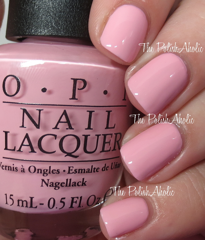 Pink Nail Polish By Opi
