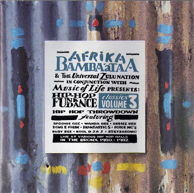 Afrika Bambaataa & The Universal Zulu Nation – Conjunction With Music Of Life Presents Hip Hop Funk Dance Classics Volume 3 (1993) (FLAC + 320 kbps)
