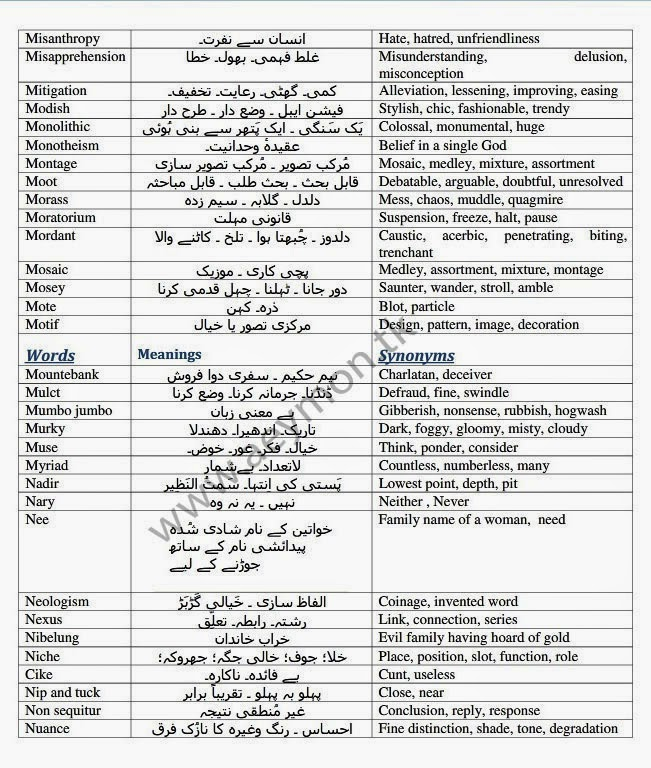 Non sedating meaning in urdu