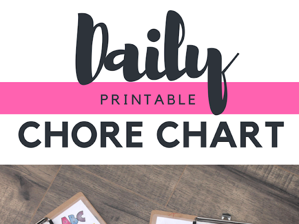 Kids Daily Chore Chart - Free Printable