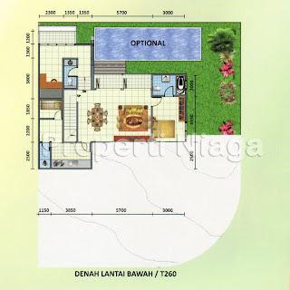Denah-Rumah-Cluster-Emerald-Golf-Type-Avage-Sentul-City_2