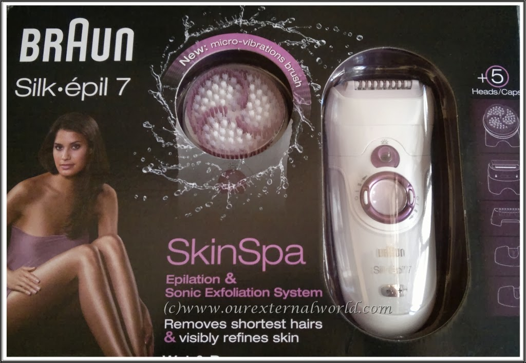 Braun Silk Epil 7 Skin Spa Model 7951 - Review