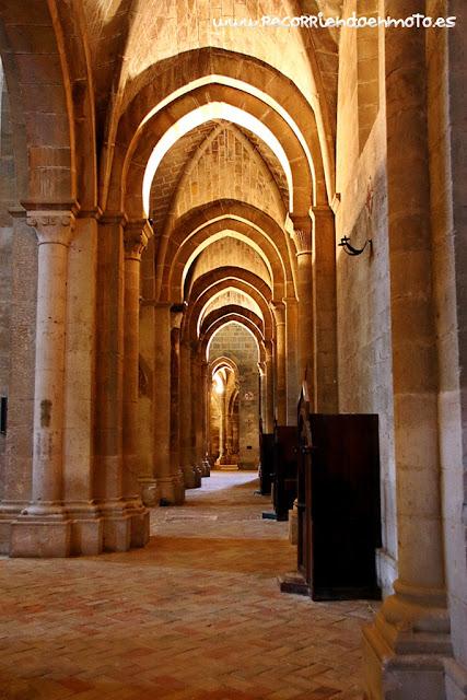 Interior iglesia Abacial, monasterio de Veruela