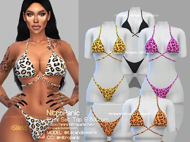Bikini Set for The Sims 4