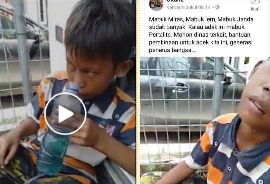 Viral Video Bocah Mabuk BBM Pertalite, Ternyata Seperti Ini Efek Mengerikannya