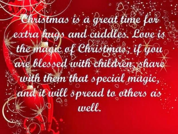 Christmas Quotes 21 Inspirational Sayings To Share During: Christmas Is A Great Time For Extra Hugs And Cuddles. Love