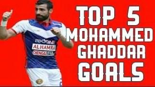 Top 5 Gol Mohammed Ghaddar Paling Cantik Dan Awesome