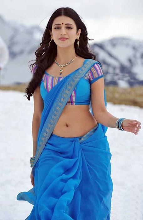shruti Hassan, Hot navel show, sexy tollywood actress