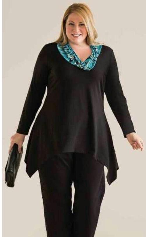 nuevas variedades calidad estable elegante en estilo Blusas elegantes para gorditas   Solo para Gorditas