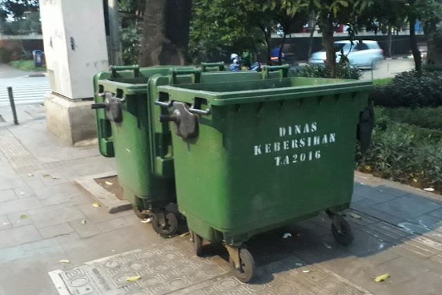 Lima Fakta tentang Pengadaan Tempat Sampah Buatan Jerman di Jakarta
