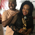 "Actor, Kenneth Okonkwo, decorates his wife, Ifeoma, as ""Wife of the Year"