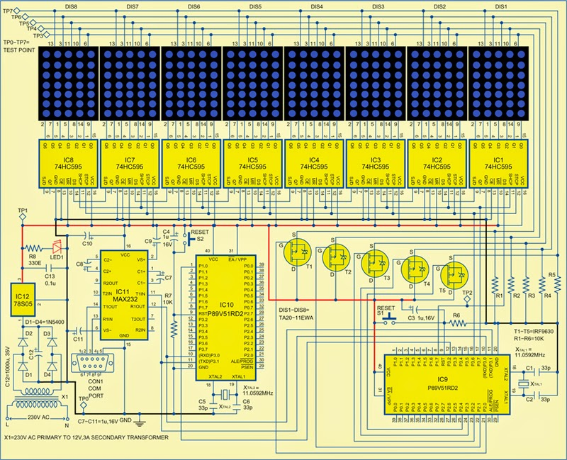 Led Driver Circuit Schematic Automotive Wiring Diagram