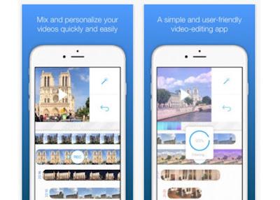 Una app para iOS que permite crear y editar videos en pocos minutos