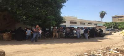 تشييع جثمان ضحايا مذبحة بنها