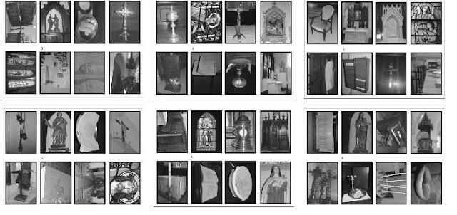 jeu objets liturgiques