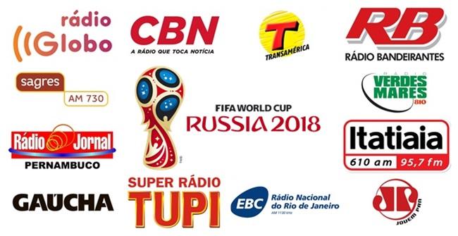 Saiba como as rádios brasileiras farão a transmissão da Copa do Mundo