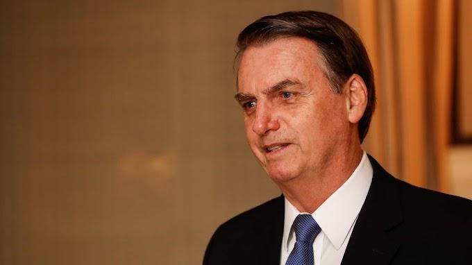 'Sempre sonhei em libertar o Brasil da ideologia nefasta de esquerda', diz Bolsonaro