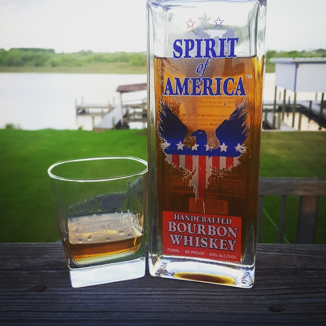 The Spirit of America Handcrafted Bourbon Whiskey