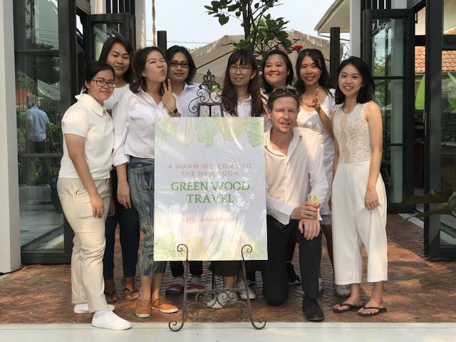 Opening new office Green Wood Travel, Bangkok - Thailand