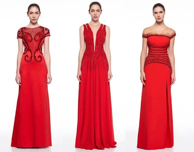 vestido de festa vermelho madrinha ou formanda