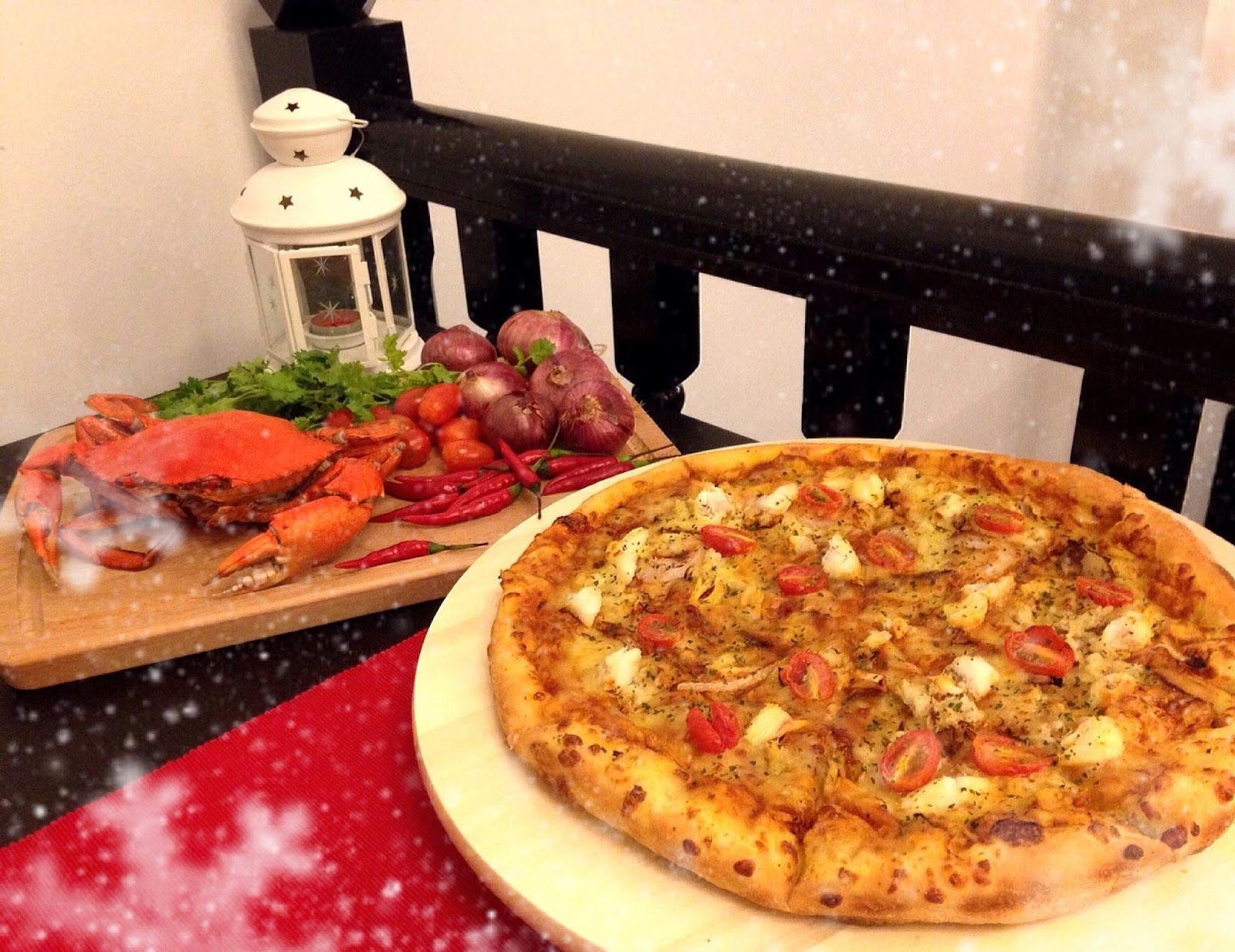 Is Dominos Open On Christmas.Shaun Owyeong Domino S Chilli Crab Pizza Peanut Butter