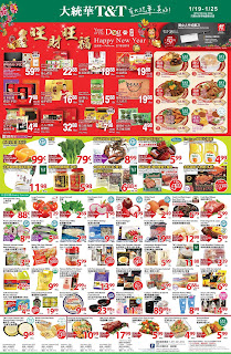 T&T Supermarket Weekly Flyer January 19 - 25, 2018