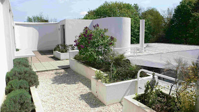 giardino villa savoye