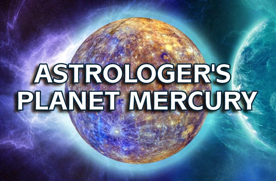 Astrologer's Planet Mercury - Vedic Astrology Blog