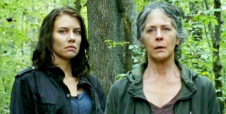 Carol Peletier Maggie Greene The Walking Dead