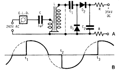 Build a high-volt supply Circuit Diagram