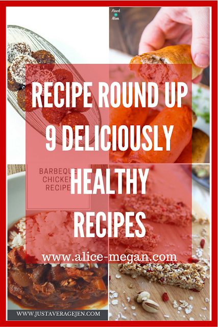 Healthy recipe round up