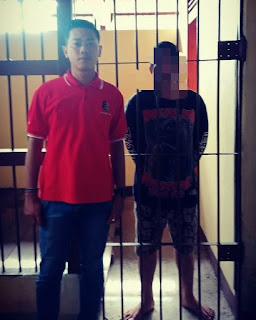 Selang Beberapa Lama Menjadi Buronan Polisi, Seorang Pemuda Berhasil Ditangkap Unit Reskrim Polsek Kubu