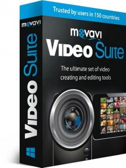Movavi Video Suite 15.4 poster box cover