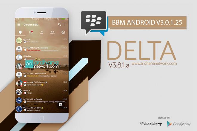 Delta BBM V3.8.1a - BBM Android V3.1.0.13